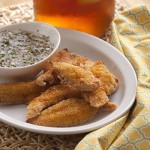 Fried Catfish Fingers with Spicy Dipping Sauce