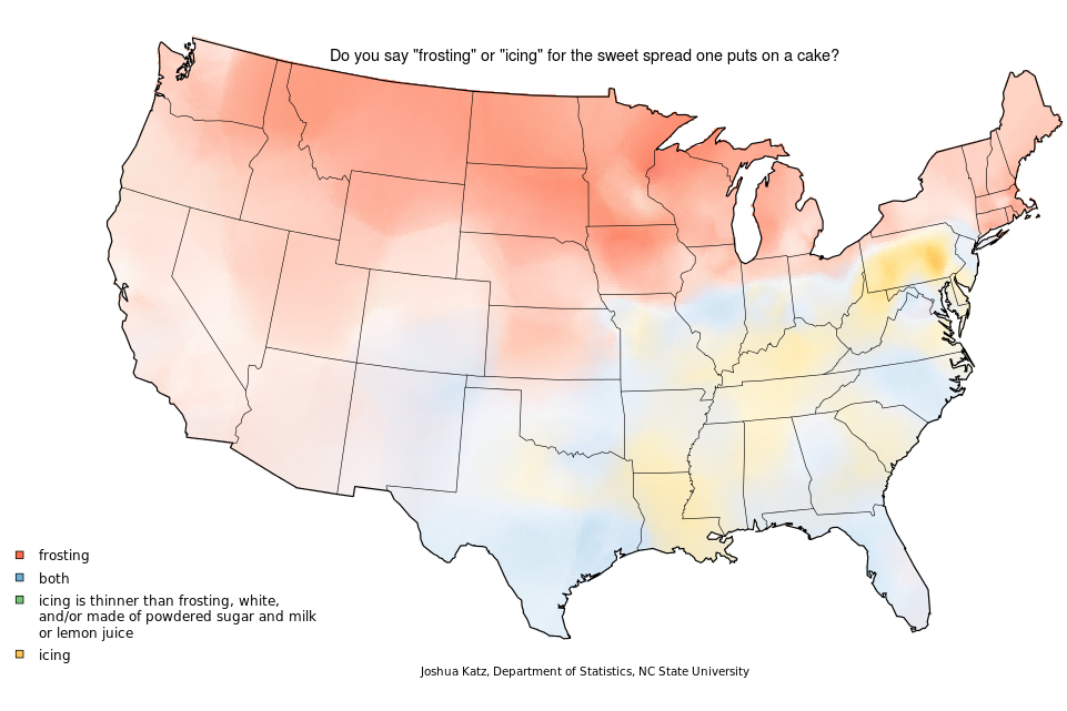 How Do You Say Pecan Mapping Food Dialect Trends Across The US - Accent map of us