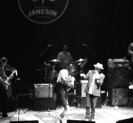 emmylou and rodney crowell at pettyfest