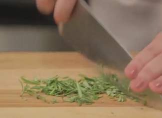 How to Chop Fresh Rosemary