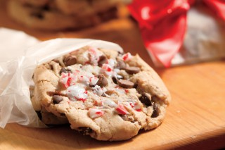 Peppermint Crush Chocolate Chip Cookies