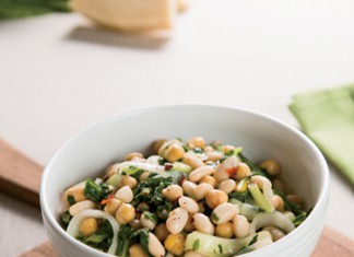 Turnip Greens and White Beans Saute