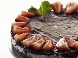 Berry Chocolate Cheesecake Freezer Tart Recipe