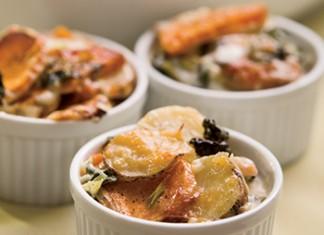 Potato and Kale Casserole