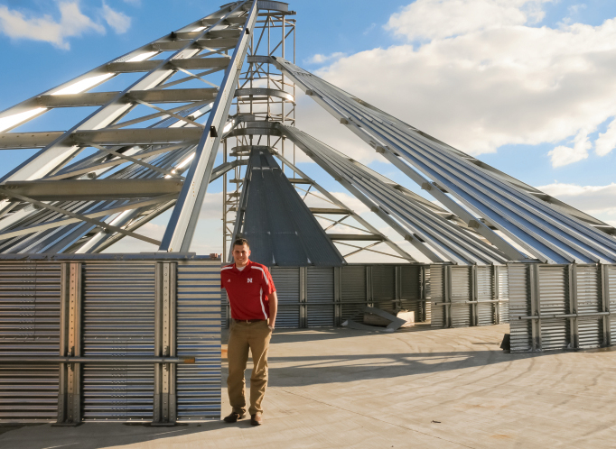 Austin Zimmerman, Engineer for GSI Inc. in Illinois