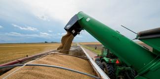 Nebraska wheat harvest