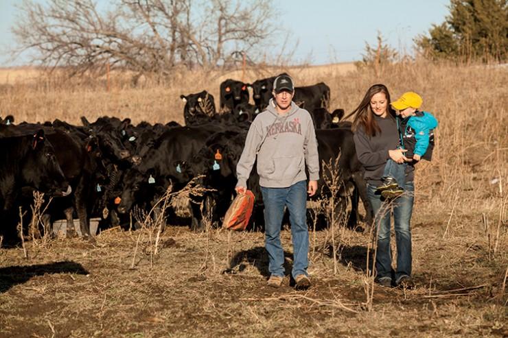 Kyle and Gina Cantrell, Nebraska family farm