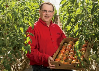 Marv Fritz, Garden Fresh Vegetables, Nebraska
