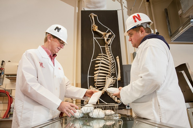 University of Nebraska Lincoln's meat lab