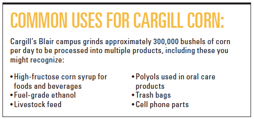 Uses for Cargill Corn Infographic