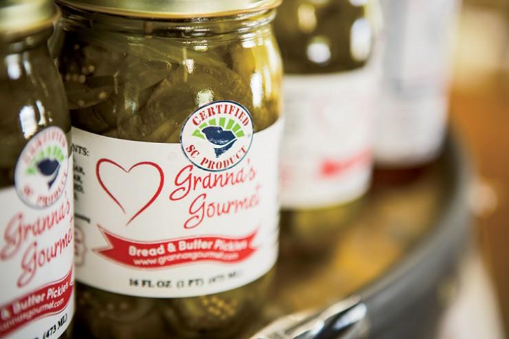 South Carolina Roadside Markets Granna's Gourmet jar