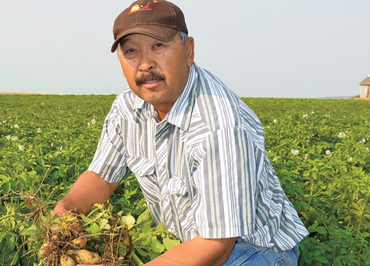 Den Chin- Oregon potato grower