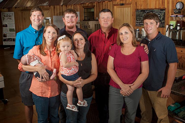 Korbett family, Georgia agritourism