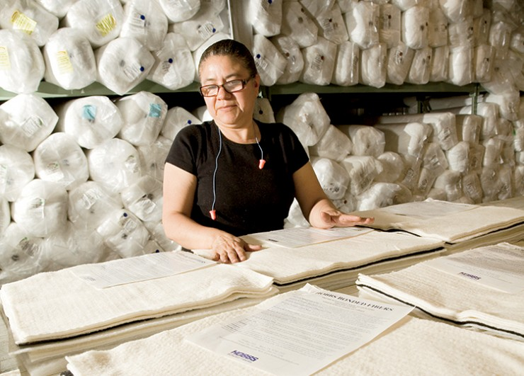 Larry Hobbs and his family's company, Hobbs Bonded Fibers in Waco, create innovative products like insultion for cars from cotton and other natural fibers.