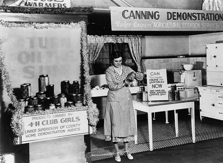 canning demonstration