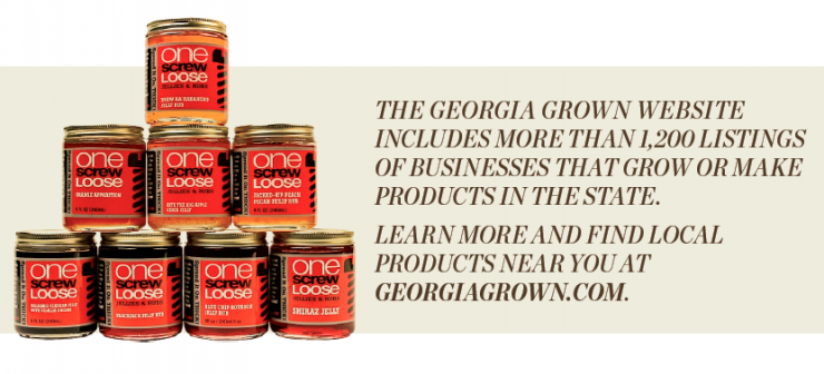 Georgia Grown Product Graphic
