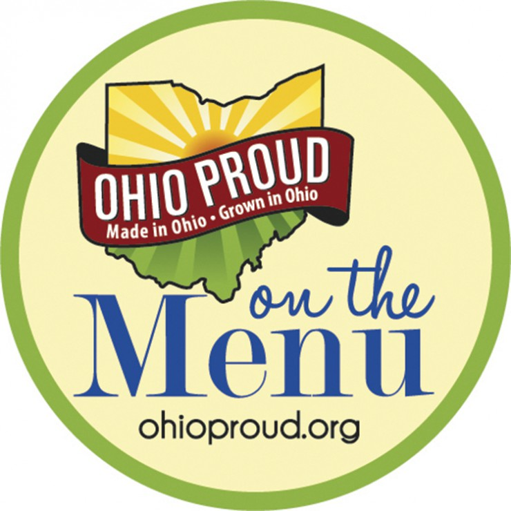 Ohio Proud on the Menu Circle