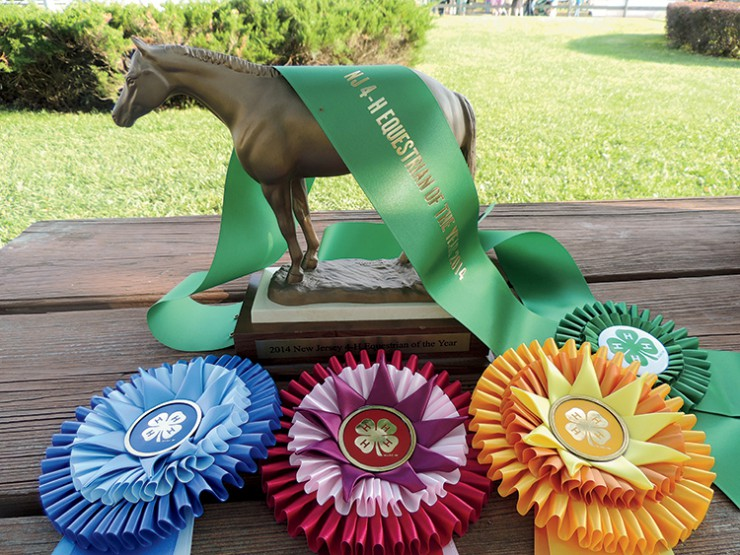 New Jersey 4-H Equestrian of the Year award