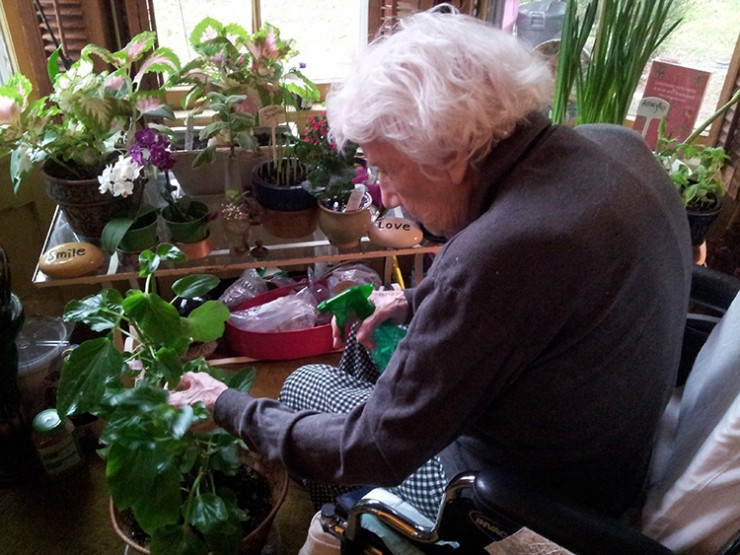 Lorraine New Jersey horticulture therapy