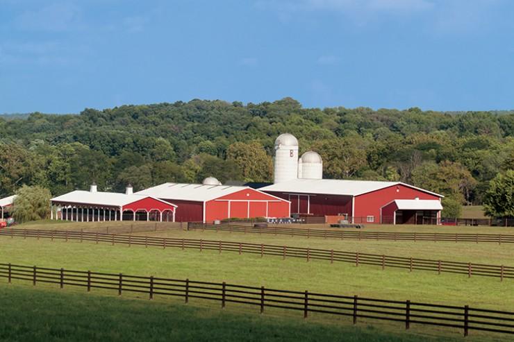 Rainbow Run Farms in Flemington, New Jersey, Hunterdon County.