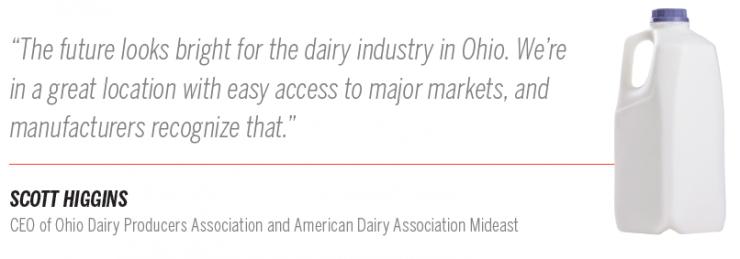 Ohio dairy pullquote