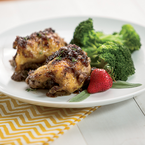 Theo's Strawberry Chicken