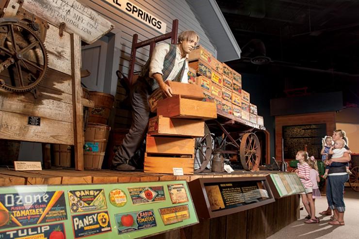 farm truck display