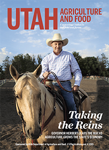 Utah Agriculture and Food 2015 Cover