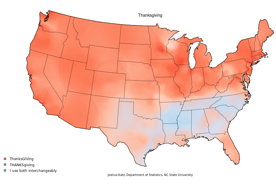 Caramel Pronunciation Map How Do You Say Pecan? Mapping Food Dialect Trends Across the U.S.  Caramel Pronunciation Map